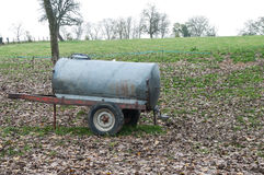 Traditional cattle watering tank Stock Image