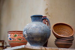 Traditional ceramic jugs Royalty Free Stock Photography