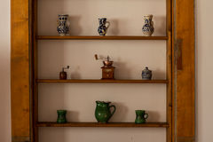 Traditional ceramic objects from Transylvania Stock Photography