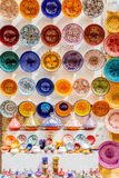 Traditional ceramic pottery in Morocco Royalty Free Stock Images