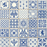 Traditional Ceramic 05 Vintage 2D Stock Images