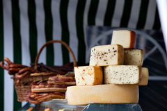 Traditional cheese Royalty Free Stock Photography