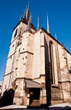 Traditional Chezh church Royalty Free Stock Photos