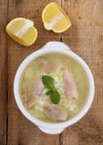 Traditional chicken soup Royalty Free Stock Images