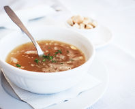 Traditional chicken soup Royalty Free Stock Photos