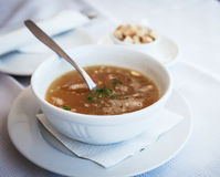 Traditional chicken soup Royalty Free Stock Photo