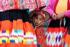 Traditional children from Peru Royalty Free Stock Photo