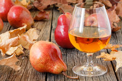 Traditional Chilean pear brandy Royalty Free Stock Images