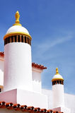 Traditional chimneys at Portugal Stock Photography