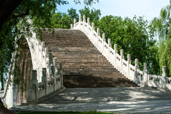 Traditional Chinese arch bridge Royalty Free Stock Photography