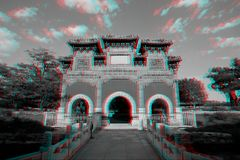 Traditional Chinese Architecture in 3D Stock Photos