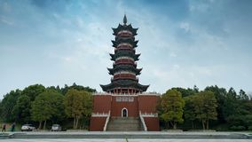 Traditional Chinese architecture stock video footage
