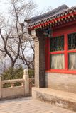 Traditional Chinese Architecture Detail Royalty Free Stock Photo