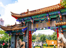 Traditional Chinese Architecture Royalty Free Stock Photos