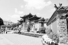 Traditional Chinese Architecture - Gate Stock Image