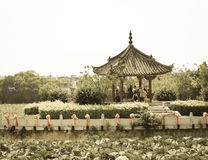 Traditional Chinese Architecture - Outdoors Royalty Free Stock Photo