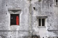 Traditional Chinese architecture on Pingjianglu, Suzhou, China Royalty Free Stock Photography