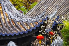 Traditional chinese architecture Royalty Free Stock Photo