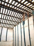 Traditional Chinese Bamboo Structure Royalty Free Stock Photo