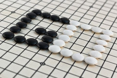 Traditional Chinese Board Game - Go Stock Images