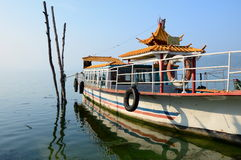 Traditional Chinese Boat Stock Images