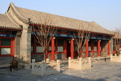 Traditional chinese building. A traditional chinese building-quadrangle Stock Photo