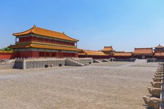Free Traditional Chinese Building Under Blue Sky Royalty Free Stock Images - 91457479
