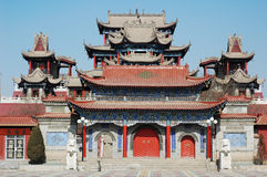 Traditional chinese buildings Royalty Free Stock Photo