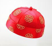 Traditional Chinese cap Royalty Free Stock Image