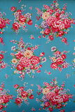 Traditional chinese cloth. With beautiful flower style royalty free stock photography