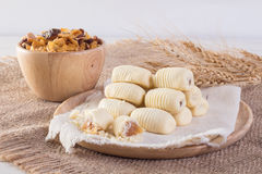 Traditional Chinese cookies pineapple tart Royalty Free Stock Image