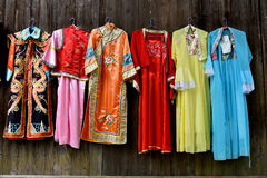 Traditional chinese costume Stock Photo