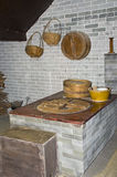 Traditional Chinese countryside cooking stove. Stock Image