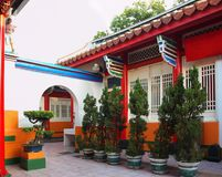 Traditional Chinese Courtyard Stock Images