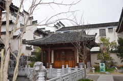 Traditional Chinese Courtyard Stock Photography