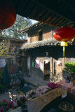 Traditional chinese courtyard Stock Image