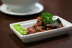 Traditional chinese cuisine Royalty Free Stock Photos