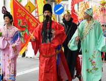 Traditional Chinese Cultural Parade. At Penang Malaysia Stock Photos