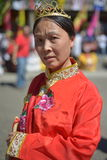 Traditional chinese dancer. At Canada Day celebration Stock Photography