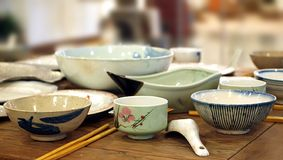 Traditional Chinese Dinner Table Royalty Free Stock Photography