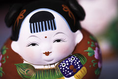 Traditional Chinese doll Royalty Free Stock Photography