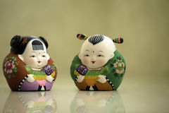 Traditional Chinese dolls Royalty Free Stock Photos