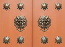 Traditional Chinese door Royalty Free Stock Photography