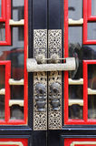 Traditional Chinese Door. Of shandong taishan Stock Photography