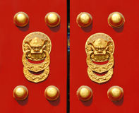 Traditional Chinese Door Royalty Free Stock Images