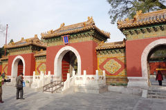 Traditional Chinese door Stock Images