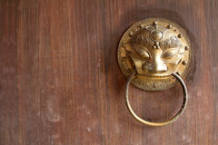 Traditional Chinese Door Royalty Free Stock Photo