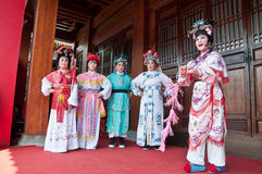 The traditional Chinese drama Stock Photo
