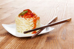 Traditional chinese eating. Royalty Free Stock Photos