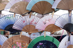 Traditional Chinese Fans Royalty Free Stock Photography